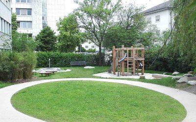 Sanierung Spielplatz Kindergarten Heßstrasse