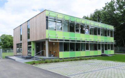 Verwaltungsgebäude Pi-München Diensthundestaffel